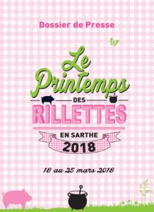 Dossier de Presse du Printemps des Rillettes 2018 (couverture)