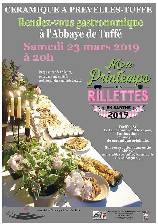 Printemps des Rillettes 2019 à l'Abbaye de Tuffé