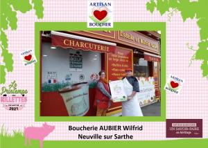 Boucherie Aubier, Neuville sur Sarthe