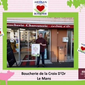 Boucherie La Croix d'Or, Le Mans