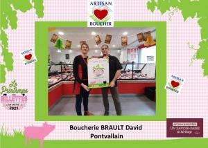 Boucherie Brault, Pontvallain