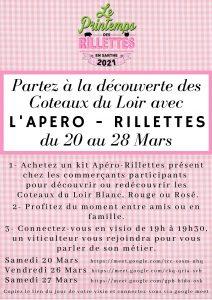 Apéro-Rillettes avec les Vignerons de l'AOC Coteaux du Loir