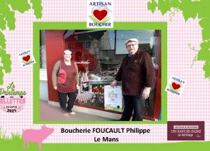 Boucherie Foucault - Le Mans